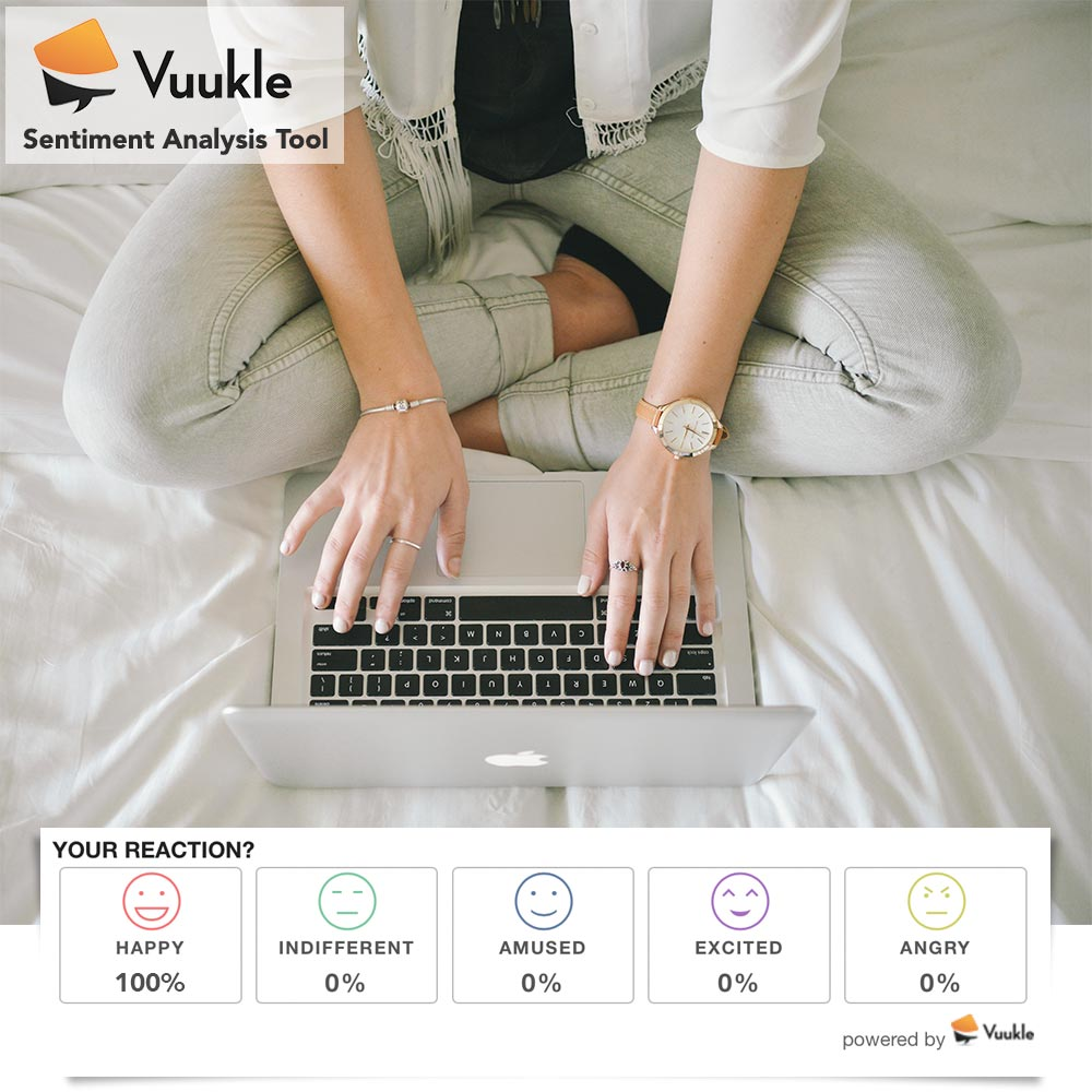 Vuukle Sentiment Analysis Tool