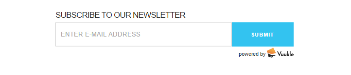enable Newsletter Subscribe widget 01