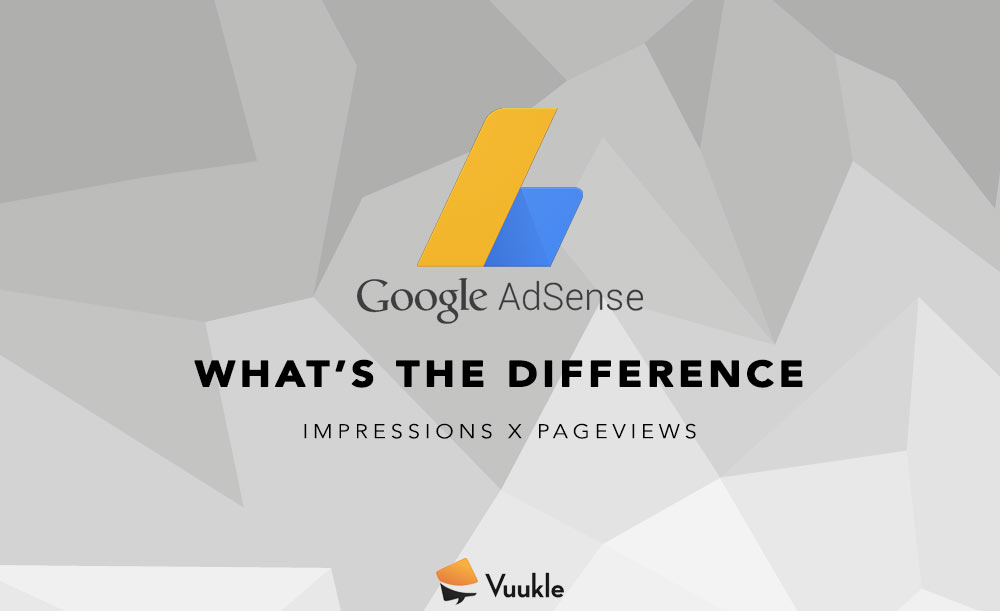 Difference between impressions and pegeviews on Google Adsense