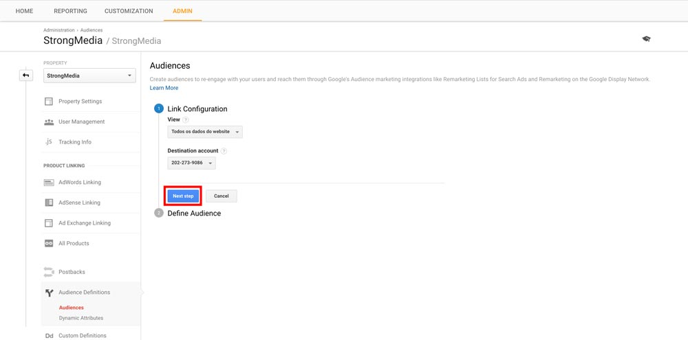Google Analytics Smart Lists - Step 3