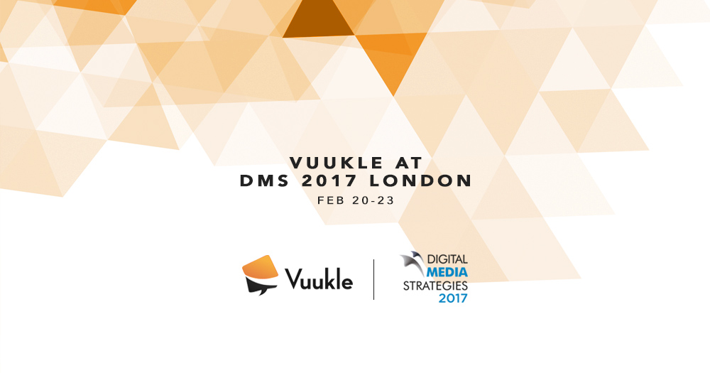 Vuukle At DMS 2017 London