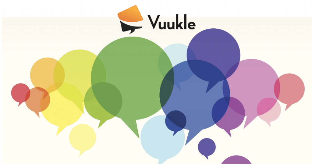 vuukle social network